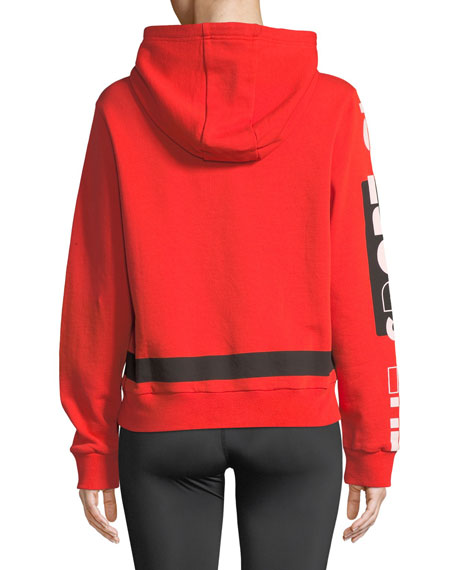 Free Hit Hooded Logo Pullover Sweatshirt