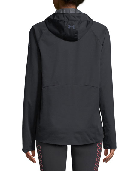 Define The Run Hooded Anorak Jacket