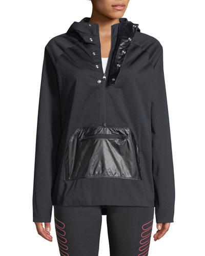 Define The Run Hooded Anorak Jacket