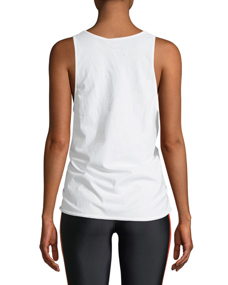 Back Spin Relaxed Tank Top