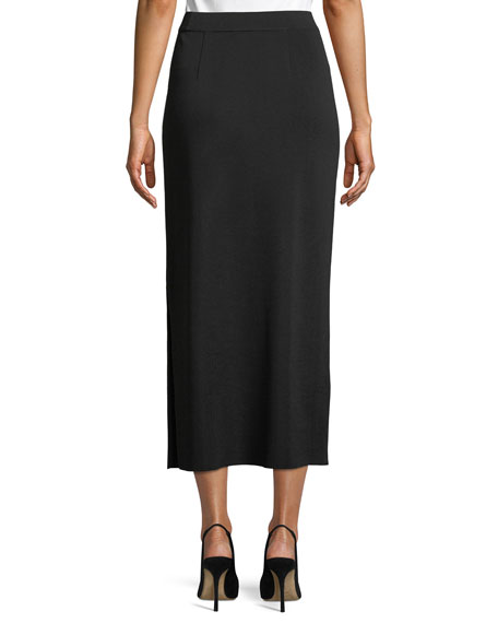 Long Straight Skirt, Plus Size