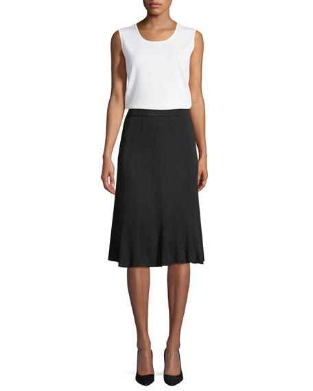 Gored A-Line Skirt