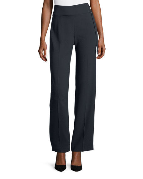 Elie Tahari Haidee High-Waist Pants