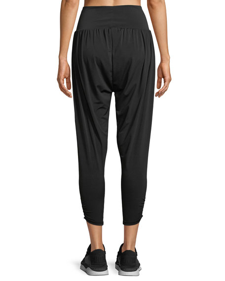 Harem Ruched Lounge Pants