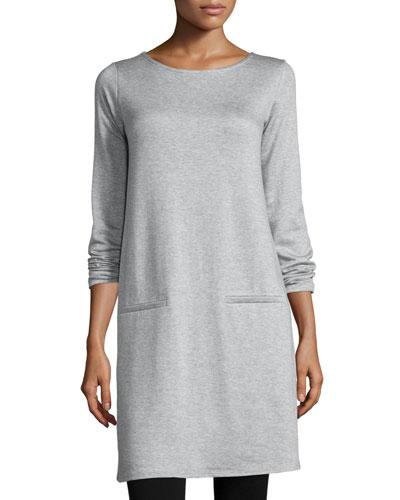 Long-Sleeve Fleece Tunic & Leggings, Plus Size