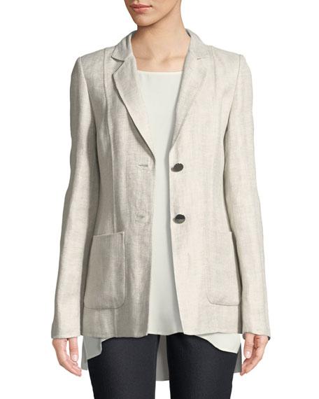 Lafayette 148 New York Kenley Portico Linen Jacket