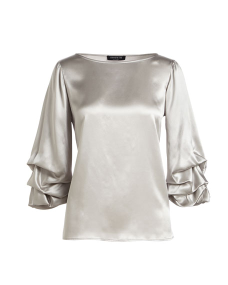 Winston Luxe Charmeuse Blouse