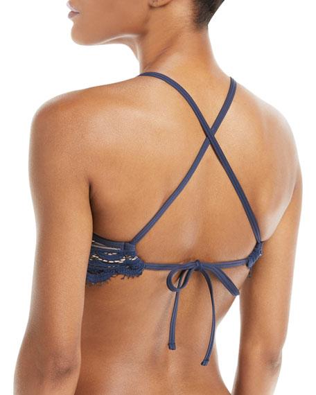 Nautica Lace Bralette Swim Top