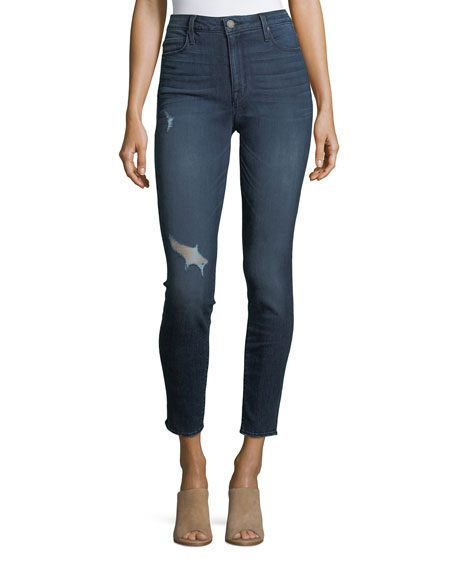 Parker Smith Bombshell Distressed Skinny Jeans
