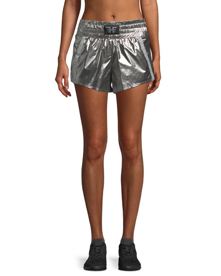 Heroine Sport Metallic Sport Shorts