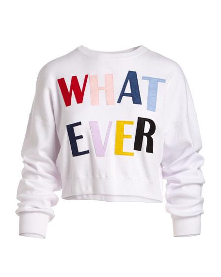 Leena Whatever Cropped Sweatshirt