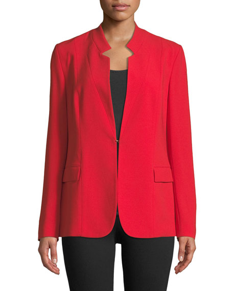 Safina Relaxed Crepe Jacket