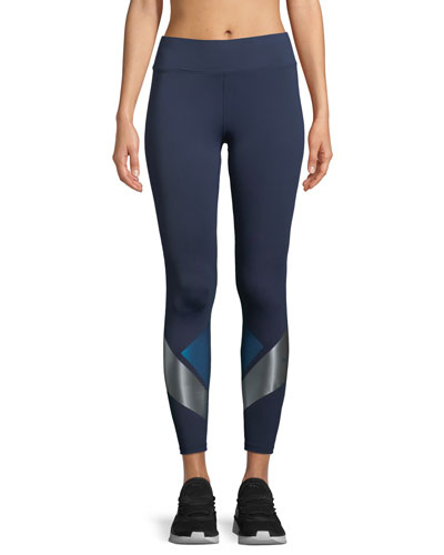 Flex Full-Length Leggings with Metallic Graphics