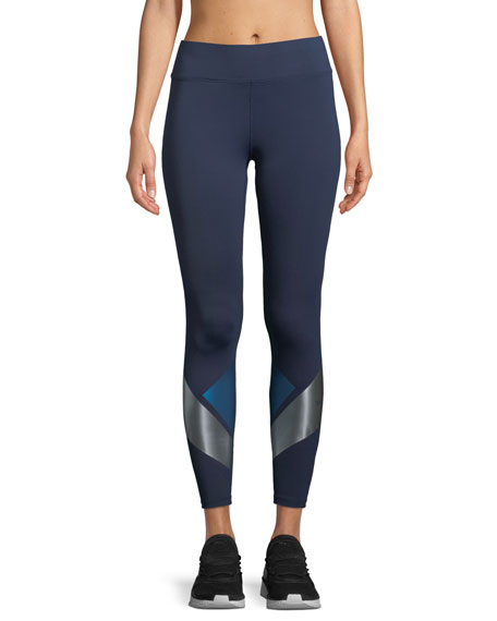 Heroine Sport Flex Full-Length Leggings with Metallic Graphics