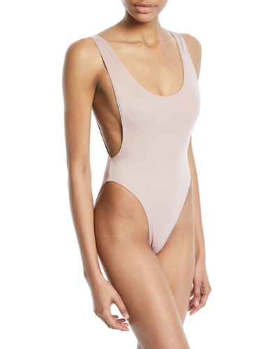 Marissa High-Cut One-Piece Swimsuit