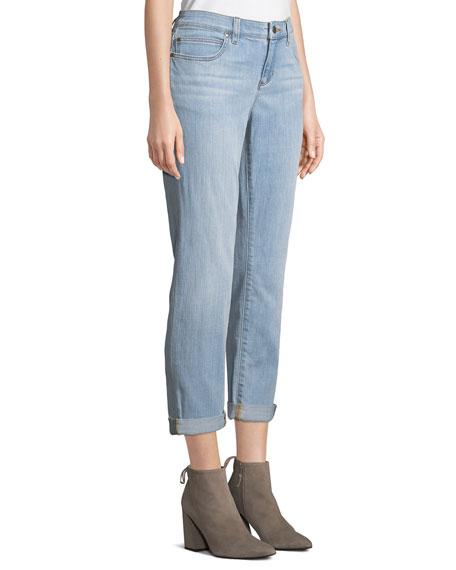 Stretch Boyfriend Jeans, Plus Size