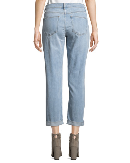 Stretch Boyfriend Jeans, Petite