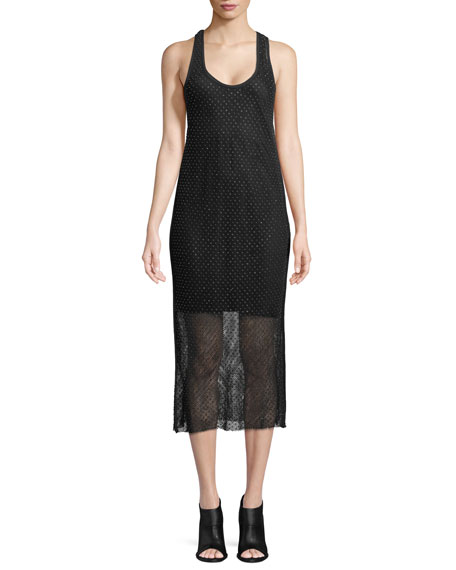 Rag & Bone Terry Sleeveless Tank Dress