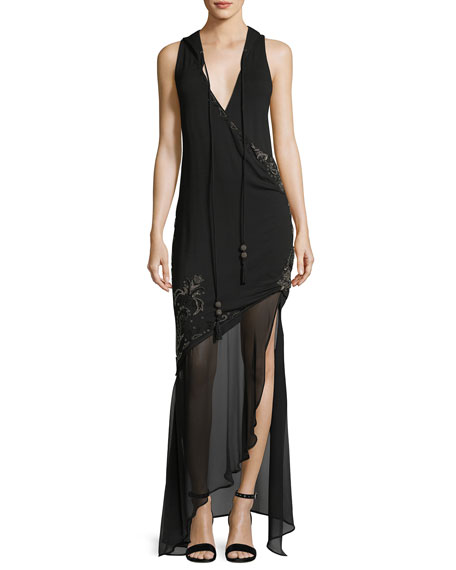 Haute Hippie King of Salem Sleeveless Silk Chiffon