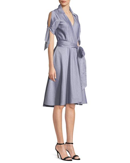 Valerie Oxford Shirting Dress