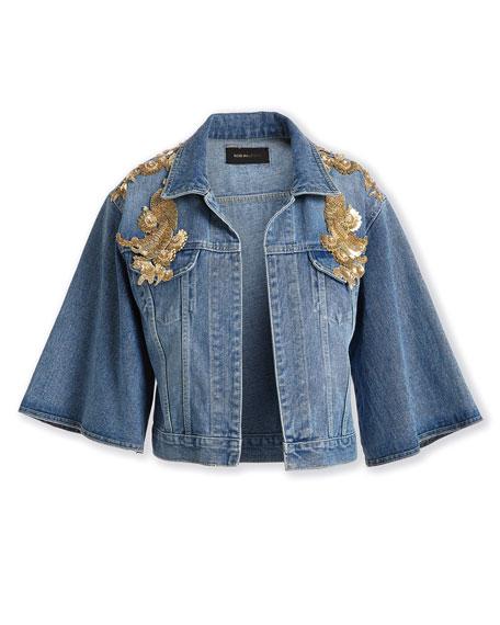 Amada Embellished Denim Jacket