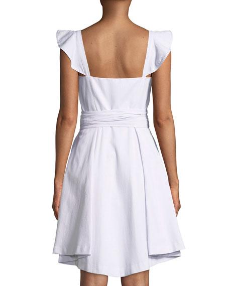 Classic Seersucker Corset Dress