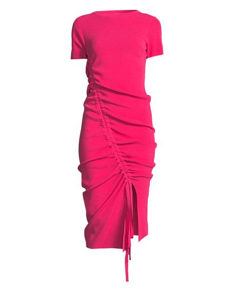 Tunnel Draped Sheath Dress