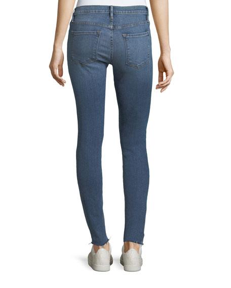 Le Skinny De Jeanne Raw-Edge Jeans