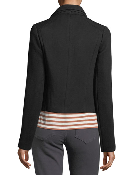 Zip-Front Scuba Jacket