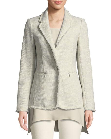 Lyndon Morning Dew Tweed Jacket