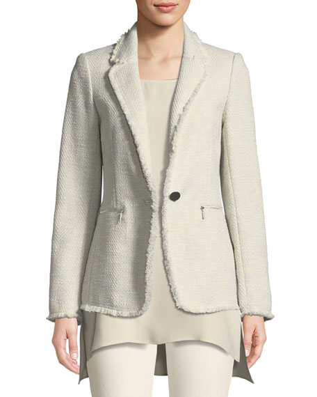 Lafayette 148 New York Lyndon Morning Dew Tweed