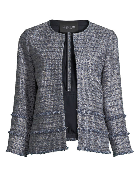 Aisha Exhibition Tweed Jacket