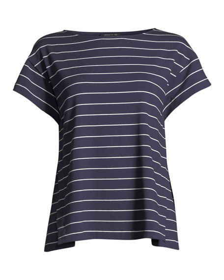 Ella Mulberry Striped Top