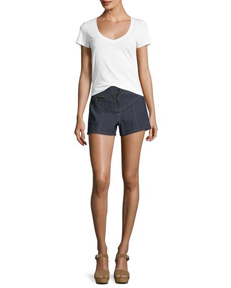 Tous Les Jours Tobie Denim Shorts