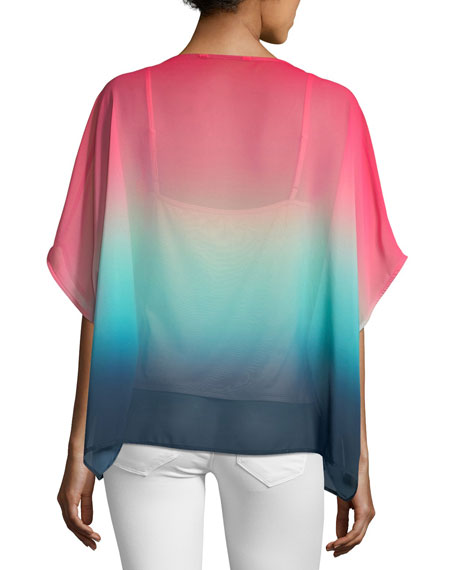 Sunset Ombré Relaxed Blouse