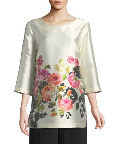 Flower Girl Printed Tunic