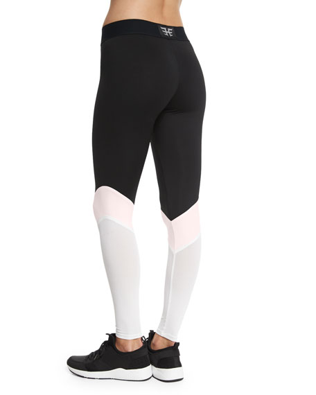 Colorblock Cycling Leggings