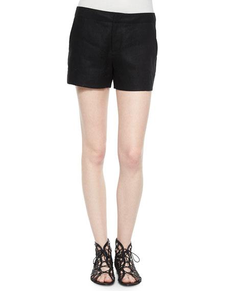 Joie Leiden Linen Shorts