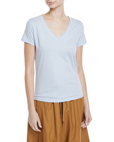 Vince Essential V-Neck Top and Matching Items &
