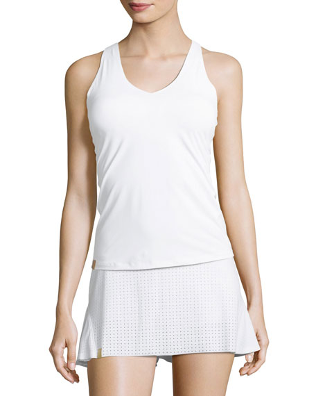 Monreal London Essential V-Neck Jersey Tank