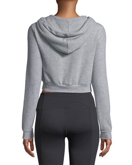 Getaway Cropped Hoodie Sweatshirt