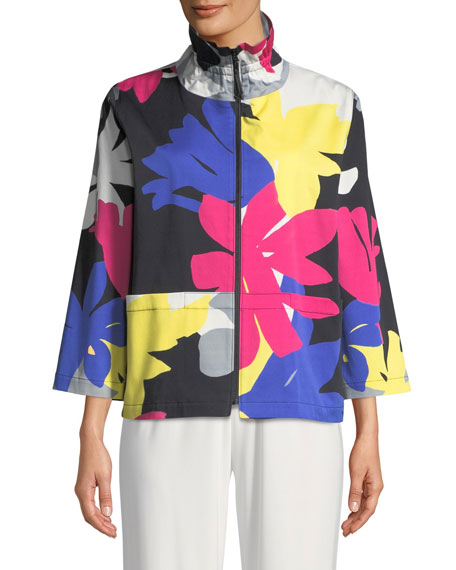 Petal Pusher Printed Jacket