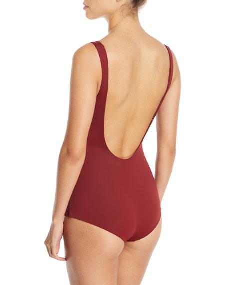 Adeline Tie-Waist One-Piece Swimsuit