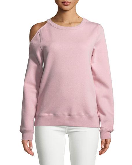 Rebecca Minkoff Elton Cold-Shoulder Sweatshirt