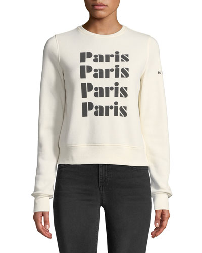 Paris Crewneck Sweatshirt