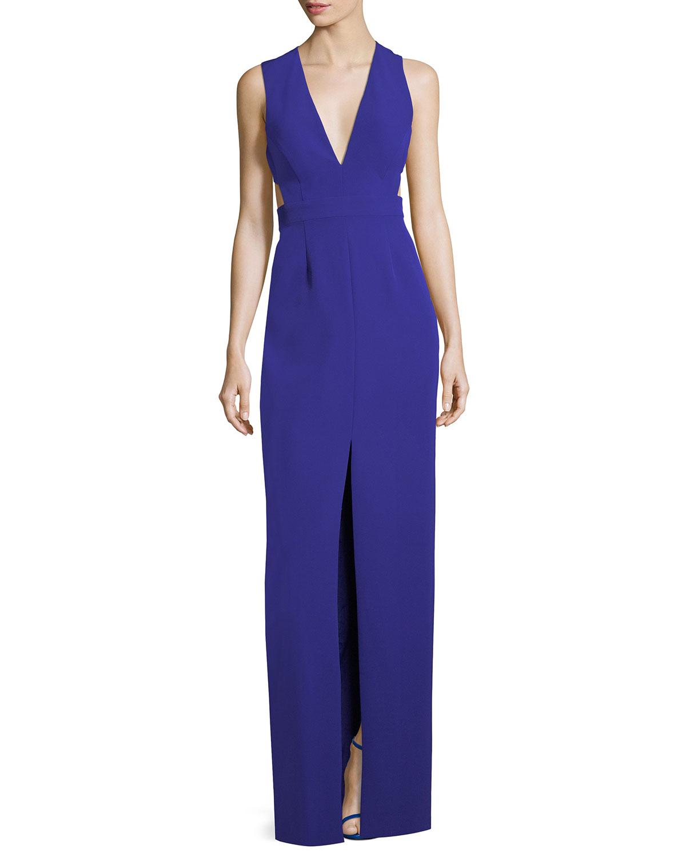 Open Back Gown | Neiman Marcus