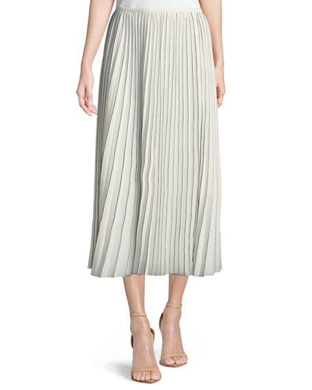 Lafayette 148 New York Florianna Euphoric Pleated Skirt