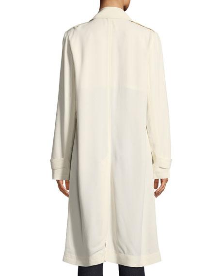 Oaklane WS Belted Rosina Crepe Trench Coat