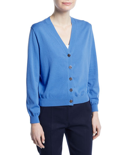 Margeaux Cotton Crepe Cardigan