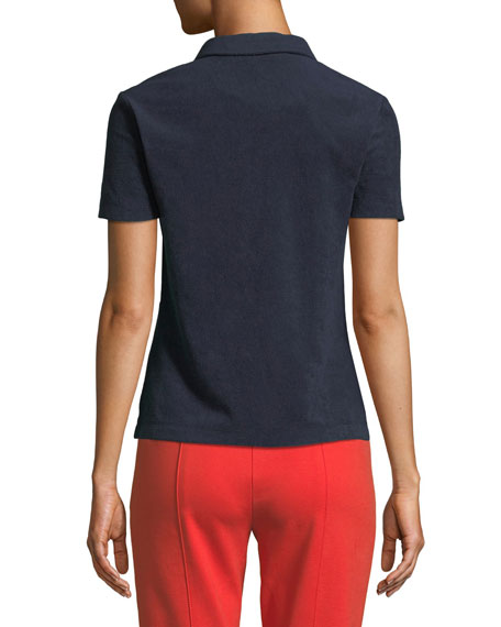 Lennox Terry Polo Shirt
